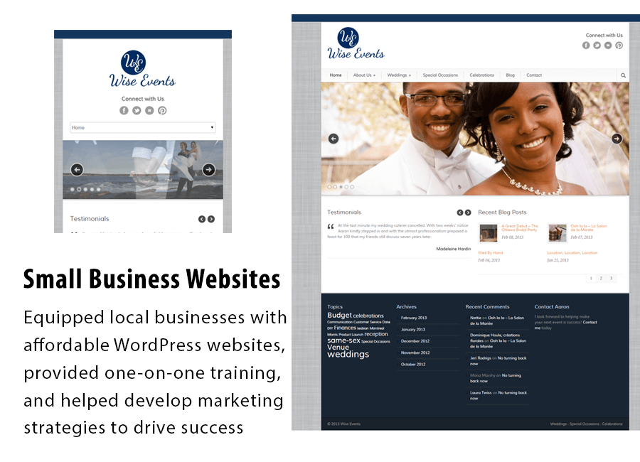 Small Business Website Creation