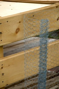 Chicken Wire siding