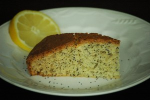 Lemon Poppyseed Cakeloaf