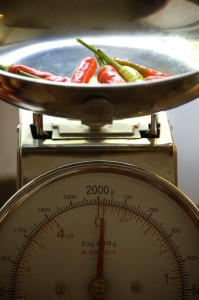 Pepper Weigh In