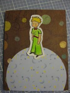 Petit Prince card