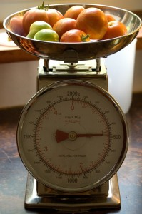 Tomato Weigh In 2