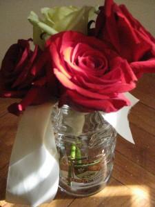 Wedding Bouquet and Beaus Stein